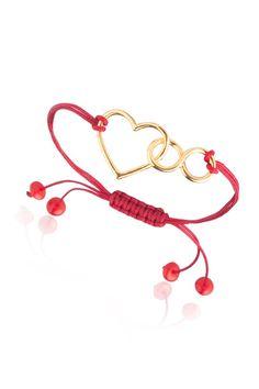 Lin Jewelry Kalp ve Sonsuzluk Makrome Bileklik: Lidyana