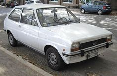 Pictures and info about the first generation Ford Fiesta supermini. 70s Cars, Retro Cars, Vintage Cars, Mk1, Ford Classic Cars, Old Fords, Ford Escort, Car Ford, Ford Motor Company