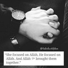 If we focuse on Allah will unite us very soon in sha Allah