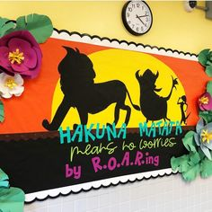 Monster Theme Classroom Reveal - The Creative Classroom Monster Theme Classroom, Elementary Classroom Themes, Jungle Theme Classroom, Classroom Birthday, Disney Classroom, Lion Bulletin Boards, Disney Bulletin Boards, Classroom Bulletin Boards, Classroom Crafts