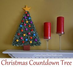 Christmas Countdown Tree featuring Laura from Come Together Kids