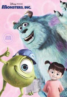 Disney/Pixar - Monsters Inc. Disney Pixar Movies, Kid Movies, Great Movies, Childhood Movies, Family Movies, Disney Characters, Walt Disney, Disney Love, Monster University