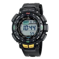 Casio Mens PAG240-1CR Pathfinder Triple Sensor Multi-Function Sport Watch