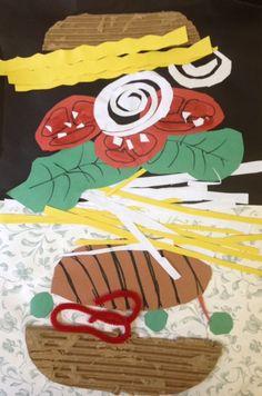 Build-a-Burger - Pop Art Burger Collages  Artist Focus: Claes Oldenburg