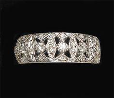 antique rings, lovely!