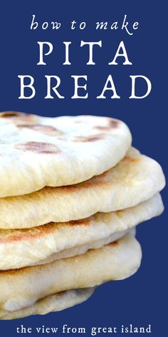 How to Make Perfect Homemade Pita Bread Every Time ~ Middle Eastern flatbread is easier to make than you think ~ never go back to the stuff in bags again. Homemade Recipe recipes artisan olive oils How to Make Pita Bread ~ it's easy! Pita Recipes, Easy Bread Recipes, Baking Recipes, Homemade Pita Bread, Homemade Recipe, Bread Bun, Artisan Bread, Bread Baking, Food To Make