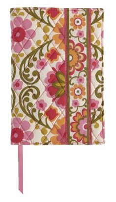 Vera Bradley Folkloric Fabric Paperback Bookcover (5.5X7.75) - Bible cover? :)