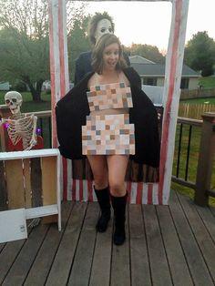 """A DIY """"censored"""" Halloween Costume! www.littlehouseoffour.com"""