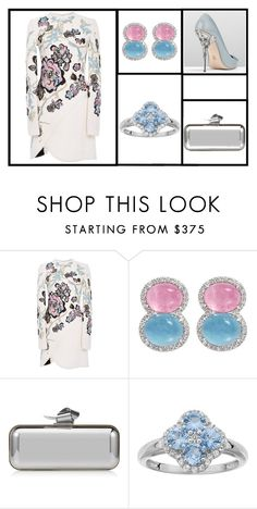 """Outfit # 3465"" by miriam83 ❤ liked on Polyvore featuring Elie Saab, RALPH & RUSSO and Jimmy Choo"