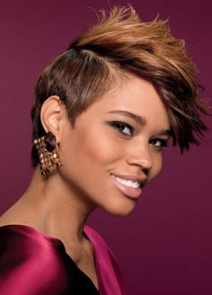 Best Short Natural Pretty Spiky Hairstyles for Black