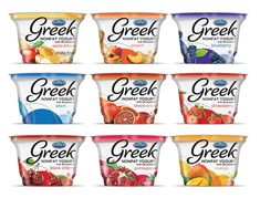 Branding - Packaging Design, Greek Yogurt