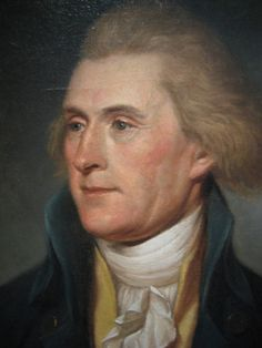 Thomas Jefferson, President of the U. ~ Thomas Jefferson was an American Founding Father who was principal author of the Declaration of Independence. Presidents Wives, American Presidents, Us History, American History, American Life, History Facts, Thomas Jefferson Quotes, Presidential History, Presidential Portraits