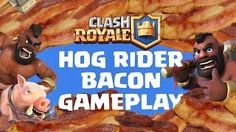 Clash Royale Gameplay with Hogriders.