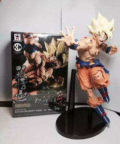 Dragon ball Z Super Saiyan Son Goku, Bardock action Figure Toy