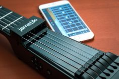 Jamstik  Smart Guitar Lets You Make Music Anywhere #music #guitar #technology