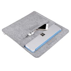 Inateck Surface 3 Sleeve Carrying Case Laptop Bag for Microsoft Surface 3 (4/4) - small pockets for useful items