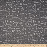 Amazon.com: Cotton Academic Club Chemistry Set Science Physics Grey Education Cotton Fabric Print by the Yard (08071)