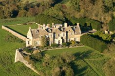 The lovely arts and crafts style Hilles House near Stroud, Gloucestershire,UK