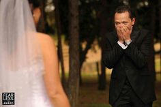 Capture the grooms reaction!