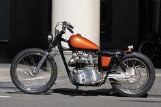 ϟ Hell Kustom ϟ: Triumph T120R By Heiwa