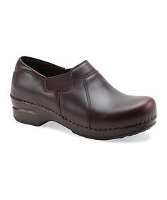 Another great find on #zulily! Espresso Tatum Leather Clog - Women by Dansko #zulilyfinds
