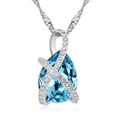 The special first-class Austria Crystal Interlaced design pendant is really charming and chic! Get shining and special when wearing it. Best Sale  Interlaced Love Austria Crystal Fashion Pendant -- USD $ 15.55