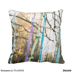 Rest your head on one of Zazzle's Nature decorative & custom throw pillows. Streamers, Decorative Throw Pillows, Outdoor Blanket, Products, Accent Pillows, Paper Streamers, Decor Pillows, Gadget, Leis