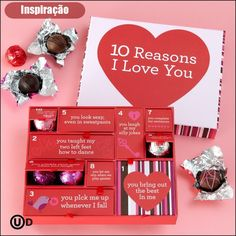 caixa de chocolates para namorado