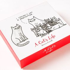 A Cat's Life Assorted Boxed QuickNotes (Set of 20)