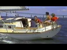Cape Dory 330 Sales Video from 1980's VHS Tape