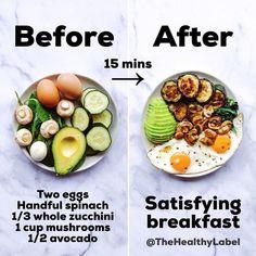 Petit déjeuner rapide, facile et satisfaisant: cela ne devrait pas vous prendre plus de 15 minutes ..., #dejeuner #devrait #facile #petit #prendre #rapide #satisfaisant