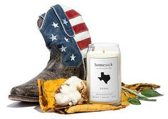 Homesick Candles -- With a specially formulated scent for every state, American made, hand-poured Homesick Candles are made from soy-based wax and burn for 60-80 hours. Texas has hints of leather, cotton, & sage while Florida is orange, sea mist, & driftwood. For Oregon it's pine tree, hazelnut, & pear. 27 states are currently available. $30