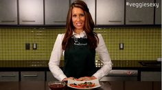 Nutrisystem's Deanna Otranto demonstrates how to prepare a simple and tasty side dish, cooked Tomatoes and Cheese.