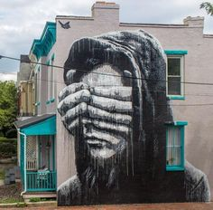 "NILS WESTERGARD  .. ""Within"" .. for Richmond Mural Project ..  [Richmond, USA 2015] (1)"