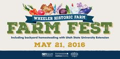 Farm Fest with Wheeler Historic Farm and USU Extension - Banner