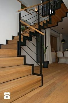 Styl Nowoczesny - StudioGRA Style At Home, Joinery, Home Fashion, Carpentry, Living Room Decor, Kitchen Design, Stairs, House Design, House Styles