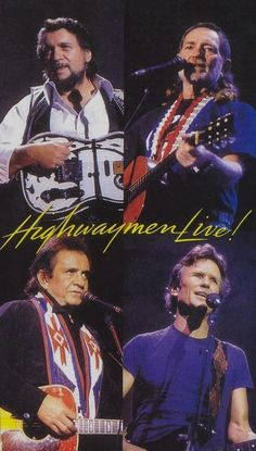 Just saw this concert on PBS: The Highwaymen live 1990 Nassau Coliseum - Waylon Jennings, Willie Nelson, Johnny Cash, Kris Kristofferson, Country Musicians, Country Music Artists, Country Singers, Best Country Music, Country Music Stars, Outlaw Country, Country Boys, Kris Kristofferson, Waylon Jennings