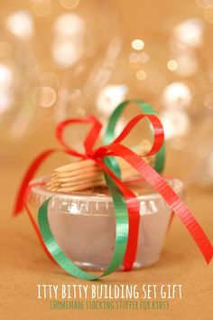 Homemade Stocking Stuffer for kids - great stocking stuffer