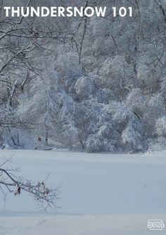 Ever wonder why it sometimes thunders when it snows? Learn more about thundersnow from Iowa Outdoors magazine