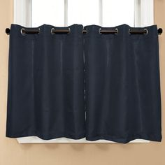 Jackson Textured Solid Kitchen Tier Curtain