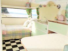 Fabulous Pastel Vintage Caravans                                                                                                                                                                                 More