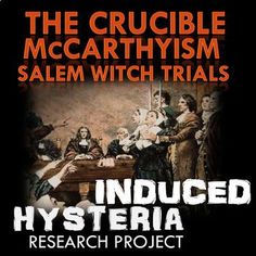 This researched formal speech activity requires students to research The Second Red Scare and McCarthyism, take notes, outline, cite sources, and prepare and deliver a formal speech. I use this as an introduction to our studying Arthur Miller's The Crucible in Honors English class.