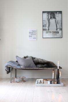 Anton Corbijn Inwards and Onwards poster - Iain Claridge Nordic Home, Scandinavian Interior, Interior Styling, Interior Decorating, Interior Design, Style At Home, Le Logis, Deco Boheme, Anna