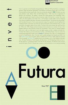 Futura Poster by Bryan Patton, via Flickr