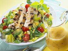 Bunter Blattsalat mit gegrillter Hähnchenbrust ist ein Rezept mit frischen Zutaten aus der Kategorie Hähnchen. Probieren Sie dieses und weitere Rezepte von EAT SMARTER!