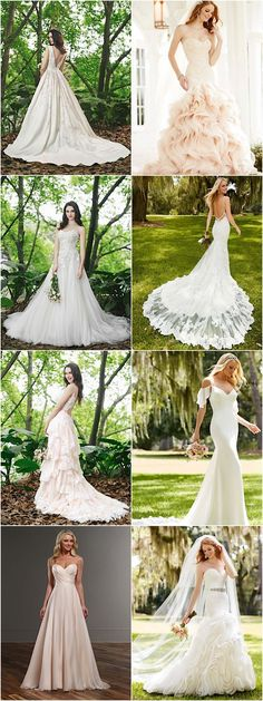Most elegant collection of wedding dresses; see designer names in the article