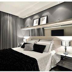 WEBSTA @ decoreseuestilo - Boa noite! ✨ Super aconchegante e chique esse quarto de casal ,em tons de cinza.... forte tendência!!Adorei!! By @a4_arquitetura #ambiente #archdesign #archdecor #archlovers #arquitetura #arquiteturadeinteriores #homedecor #homestyle #style #homedesign #design #iluminação #interiores #quartodecasal #luxury #bedroom #suitecasal #instahome #instadecor #instadesign #interiordesign #detalhes #produção #decoreseuestilo #desingdecor #decoraçãodeinteriores #decorhome…