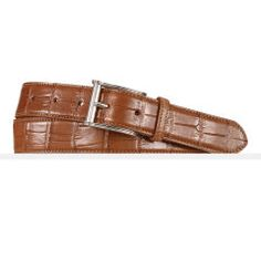 Alligator Belt - Ralph Lauren Belts & Braces - RalphLauren.com
