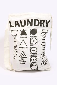 Symbols Laundry Bag