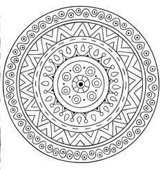 Adult Coloring Books: Mandalas Volume 2 50 Designs от BethIngrias